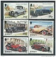 Jersey  N° 579 / 84 XX Vieilles Automobiles ( II ),  Les 6 Valeurs Sans Charnière, TB - Jersey