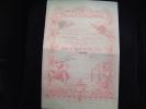 Action  De Capital De 100 Francs Trust Colonial  1899 - Afrika