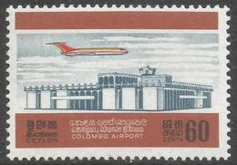 Ceylon. 1968 Opening Of Colombo Airport. 60c MNH. SG 539 - Sri Lanka (Ceylon) (1948-...)