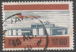Ceylon. 1968 Opening Of Colombo Airport. 60c Used. SG 539 - Sri Lanka (Ceylon) (1948-...)