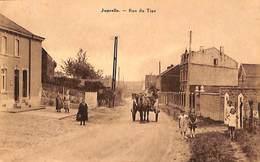 Juprelle - Rue Du Tige (animée, Attelage, Edit. Dethise) - Juprelle