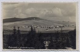 Gottesgab Mit Fichtelberg 1942y.    E350 - Repubblica Ceca