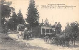 06-PAIRA-CAVA- LE DEPART DES VOITURES POUR NICE - STATION ESTIVALE - Autres Communes