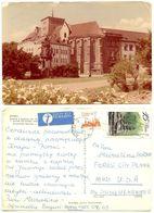 Poland 1980's Postcard Brzeg, Castle Chapel Of St. Hedwig, To Forest City, Pennsylvania - Poland