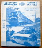 France, Indicateur Tourisme, Rail & Route, SNCF, 1951 - Collections