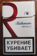Empty Cigarettes Pack Russia #r76 - Empty Cigarettes Boxes