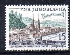 YUG78B - YUGOSLAVIA 1954,  Unificato N. 655  Nuovi  ***  JUFIZ - 1945-1992 Repubblica Socialista Federale Di Jugoslavia