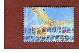 AUSTRALIA  -  SG 2141    -      2001   BIRD OF PREY:  AUSTRALIAN  KESTREL     -       USED - Usati