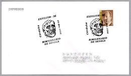 2000 Años Filosofo Y Escritor Romano SENECA - Roman Writer. Cordoba Andalucia, 1996 - Ecrivains