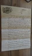 Cachet Généralité De GILLY, SAVOIE, 1783 ................. LA......DEL2-25 - Cachets Généralité