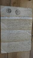 Cachet Généralité De GILLY, SAVOIE, 1815 ................. LA......DEL2-26 - Cachets Généralité