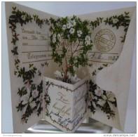 Glückwunsch - Filigrane Hochzeitskarte Gel. 1932 Nach Remscheid - Hochzeiten
