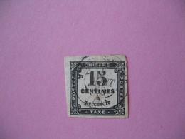 France Taxe N° 3  Oblitéré - 1859-1955 Oblitérés