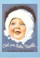 PUB Publicité  NUGERON  J 146 NESTLE C'est Un Bébé NESTLE Photographe WILQUIN *PRIX FIXE - Advertising