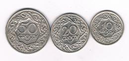 50+20+10  GROSZY 1923 POLEN /4050G/ - Pologne