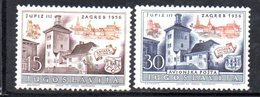 YUG80B - YUGOSLAVIA 1955,  Unificato N. 692 + AEREA  Nuovi  *** - 1945-1992 Repubblica Socialista Federale Di Jugoslavia