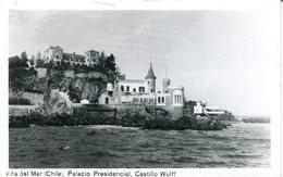 004353  Vina Del Mar - Palacio Presidencial, Castillo Wulff - Chile