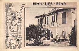 06-JUAN-LES-PINS- LES FLOTS BLEUS - HÔTEL PENSIONS - Autres Communes