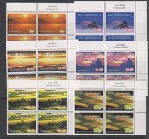 Ross Dependency 1999 Night Skies 6v Bl Of 4 (corner) ** Mnh (39458K)) - FDC