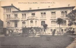 06-JUAN-LES-PINS- VILLA ALBA- HÔTEL PENSION - Autres Communes