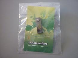 Panathinaikos Basketball Bologna 2002 European Trophy Pin Badge - Basketball