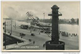 Stettin - Abfahrt Eines Rügendampfers - Verlag Emaille Fotax  Gel. 1934 - Pommern