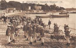 06-JUAN-LES-PINS- COMPAGNIE DE DEBARQUEMENT - Autres Communes