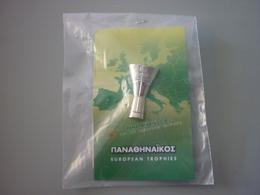 Panathinaikos Basketball Athens 2007 European Trophy Pin Badge - Basketball