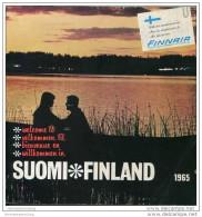Finnland 1965 - Broschüre Mit Einem Vorwort Vom President Of Finnair - 136 Seiten Mit Unzähligen Abbildungen - Finnland