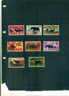 THAILANDE ANIMAUX PROTEGES 8 VAL NEUFS A PARTIR DE 2.50 EUROS - Rhinocéros