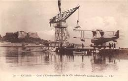 06-ANTIBES-QUAI D'EMBARQUEMENT DE LA Cie AERONAVALE ANTIBES-AJACCIO - Altri