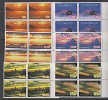 Ross Dependency 1999 Night Skies 6v Bl Of 4  ** Mnh  (39458G) - FDC