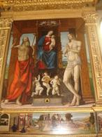 Madonna In Trono Tra S.GIROLAMO E SEBASTIANO /Abbazia S.Pietro, MODENA -  Fotografia - Religione & Esoterismo