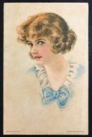 Donnina American Girl N°62 Non VIAGGIATA Ma Scritta , Primi 900 COD.BU.134 - Pin-Ups