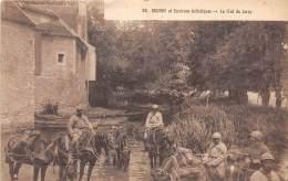 91 - ESSONNE / Brunoy - 911035 - Le Gué De Jarcy - Beau Cliché Animé - Brunoy