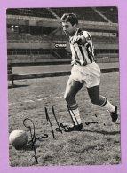 Fotografia Con Autografo Calciatore Hurrà Juventus - Riproduzioni