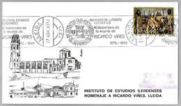 Compositor Y Pianista RICARDO VIÑES - Composer. Lleida 1983 - Music