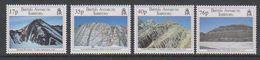 British Antarctic Territory (BAT) 1995 Geological Structures 4v ** Mnh (39459b) - Nuevos