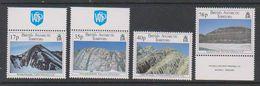 British Antarctic Territory (BAT) 1995 Geological Structures 4v ** Mnh (39459C) - Ongebruikt