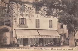 06-LAGHET- HÔTEL DE LA MADONE, ROUBAUD PROP, - Autres Communes