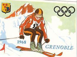 LOT DE 19 CPSM JEUX OLYMPIQUES DE GRENOBLE - Grenoble