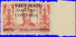Vietnam Nord 1945. ~ YT  14 à 15** - Courbet - Vietnam