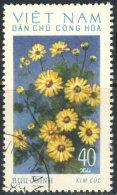 Vietnam Nord 1974. ~ YT 819 - Chrysanthèmes - Viêt-Nam