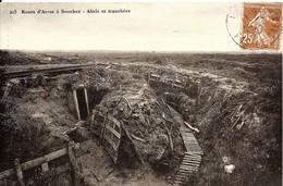 CPA 62 Route D'ARRAS à SOUCHEZ , Abris Et Tranchées, Guerre 14-18 - Guerra 1914-18