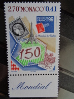 MONACO 1999   Y&T N° 2207 ** - PHILEXFRANCE 99 - Monaco