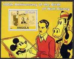 06  ; DISNEY ;  ANGOLA ;  100th An.WALT DISNEY - Viñetas De Fantasía