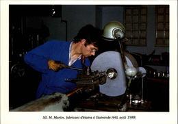 44 - GUERANDE - Fabricant D'étain - 1988 - Carte Moderne - Guérande