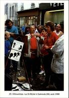 44 - GUERANDE - Silhouettiste - 1988 - Carte Moderne - Guérande