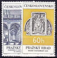** Tchécoslovaquie 1966 Mi 1617-8 (Yv 1481-2), (MNH) - Neufs