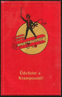 Krampus - Devil 1915 - Santa Claus